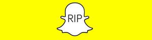 Śpieszmy się kochać social media–czasami umierają: Snapchat